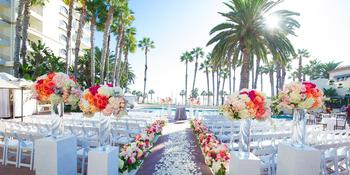 The Waterfront Beach Resort, A Hilton Hotel weddings in Huntington Beach CA