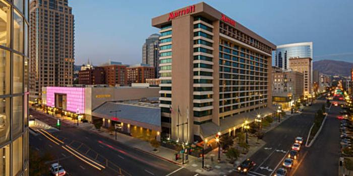 Salt Lake Marriott Downtown at City Creek wedding venue picture 1 of 8 - Provided by: Salt Lake Marriott Downtown City Creek