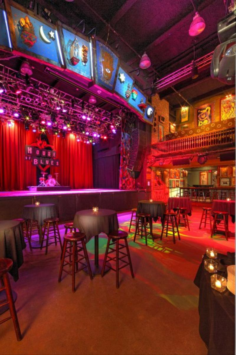 House Of Blues Cleveland wedding venue picture 10 of 16 - Provided by: House Of Blues Cleveland