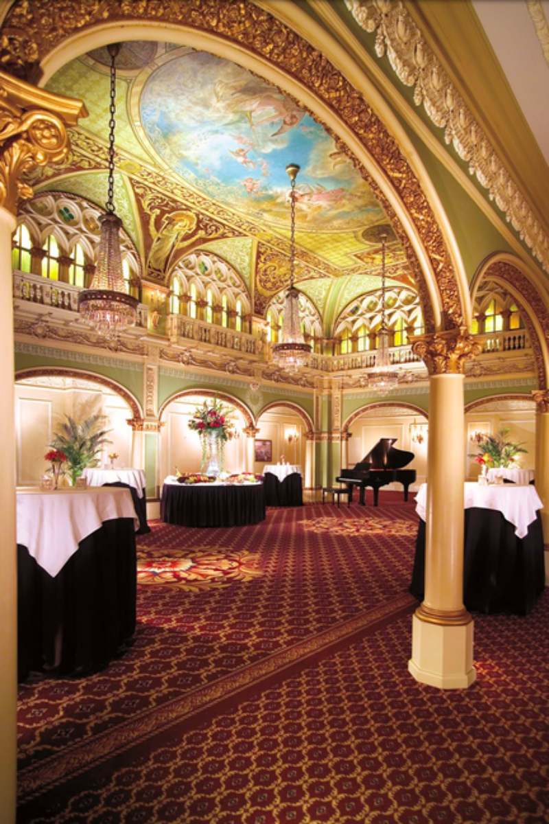 The Historic Davenport Hotel Wedding Venue Picture 5 Of 16 Provided By