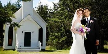 Victorian Valley Chapel weddings in Eastsound WA