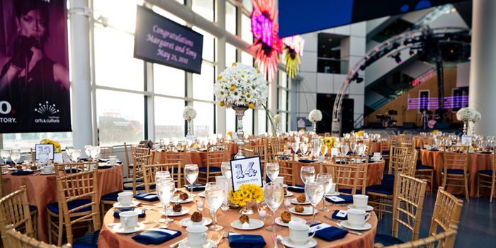 Rock and Roll Hall of Fame wedding venue picture 3 of 13 - Photo by: Making the Moment Photography