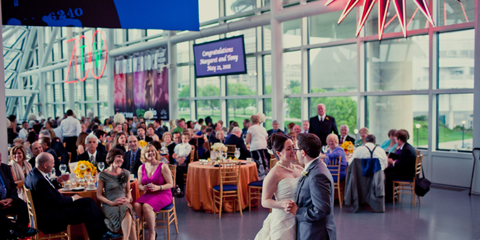 Rock and Roll Hall of Fame wedding venue picture 4 of 13 - Photo by: Making the Moment Photography