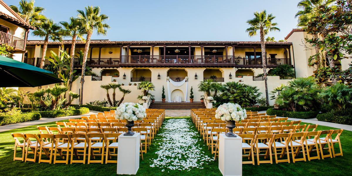 Estancia la jolla hotel spa weddings get prices for for Wedding spots in california
