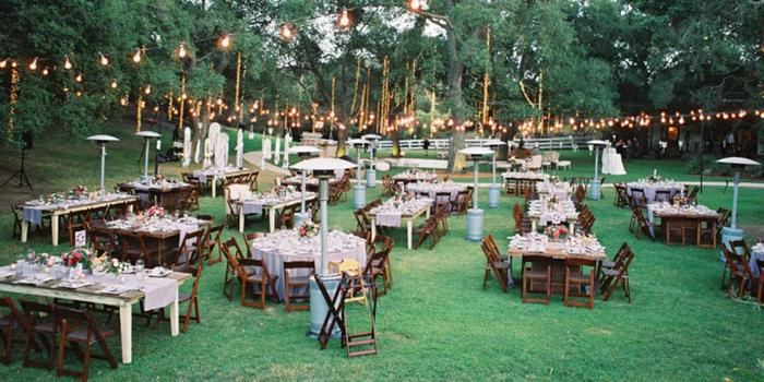 Garden Setting At Saddlerock Ranch Weddings Get Prices For Wedding Venues In Ca