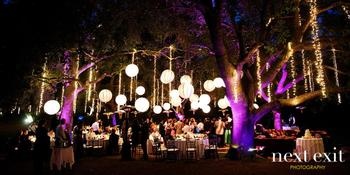 Garden Setting at Saddlerock Ranch weddings in Malibu CA