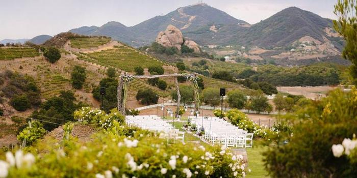Garden Setting at Saddlerock Ranch wedding venue picture 10 of 16 - Photo by: Brian Leahy Photography