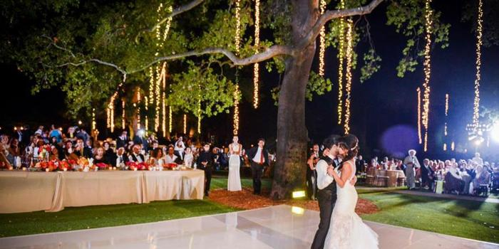Garden Setting at Saddlerock Ranch wedding venue picture 8 of 16 - Photo by: Armen Asadorian Photography