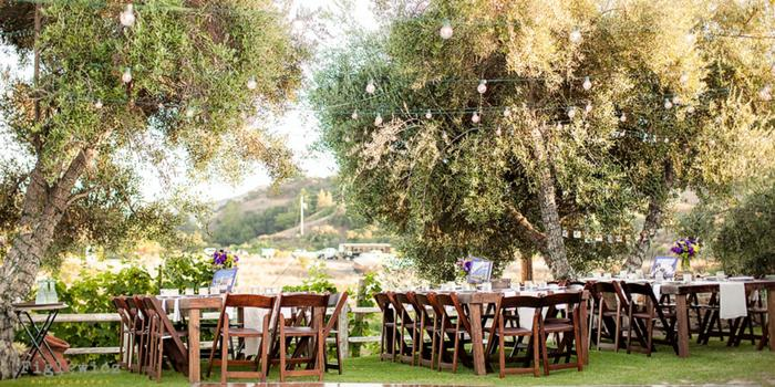 Garden Setting at Saddlerock Ranch wedding venue picture 15 of 16 - Photo by: Figlewicz Photography
