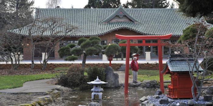 Point Defiance Pagoda wedding venue picture 5 of 15 - Provided by: Point Defiance Pagoda