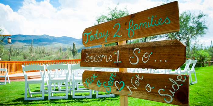 Tanque Verde Ranch wedding venue picture 8 of 10 - Photo by: Ivory Orchid Photograpy