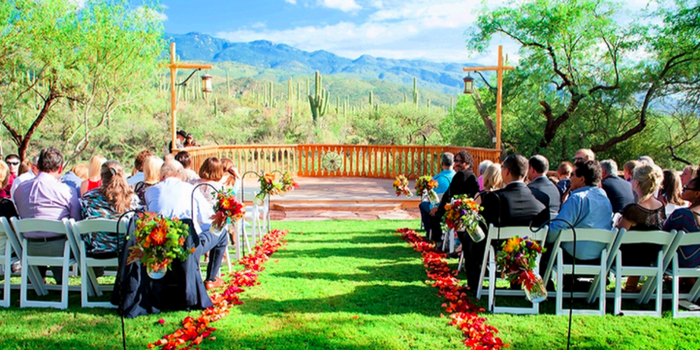 Tanque Verde Ranch wedding venue picture 1 of 10 - Photo by: Ivory Orchid Photograpy