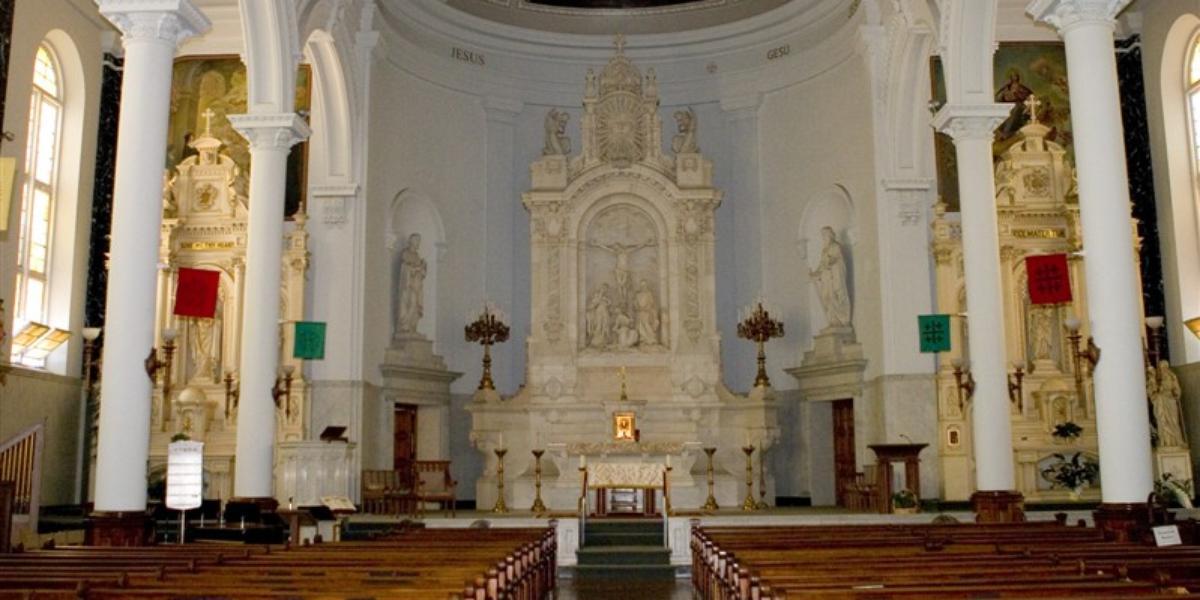 saints peter and paul jesuit church weddings