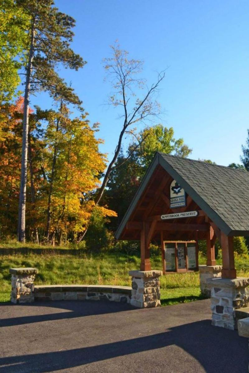 Sunnybrook Preserve Lodge, Geauga Park District wedding venue picture 6 of 7 - Provided by: Sunnybrook Preserve Lodge