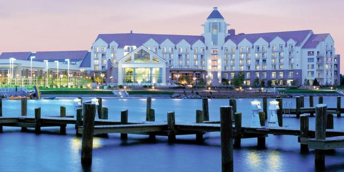 Hyatt Regency Chesapeake Bay Golf Resort Spa Marina Wedding Venue Picture 3 Of 16