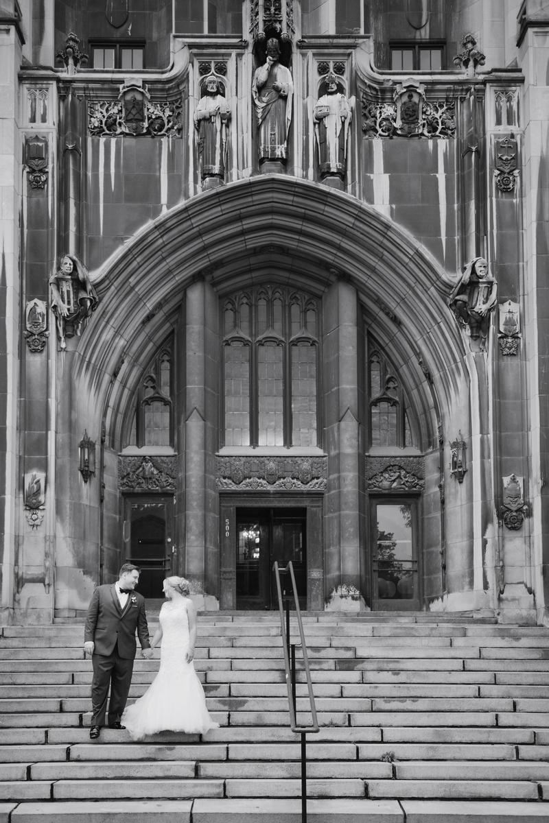 The Masonic Temple wedding venue picture 2 of 7 - Photo by: Allie Siarto Photography