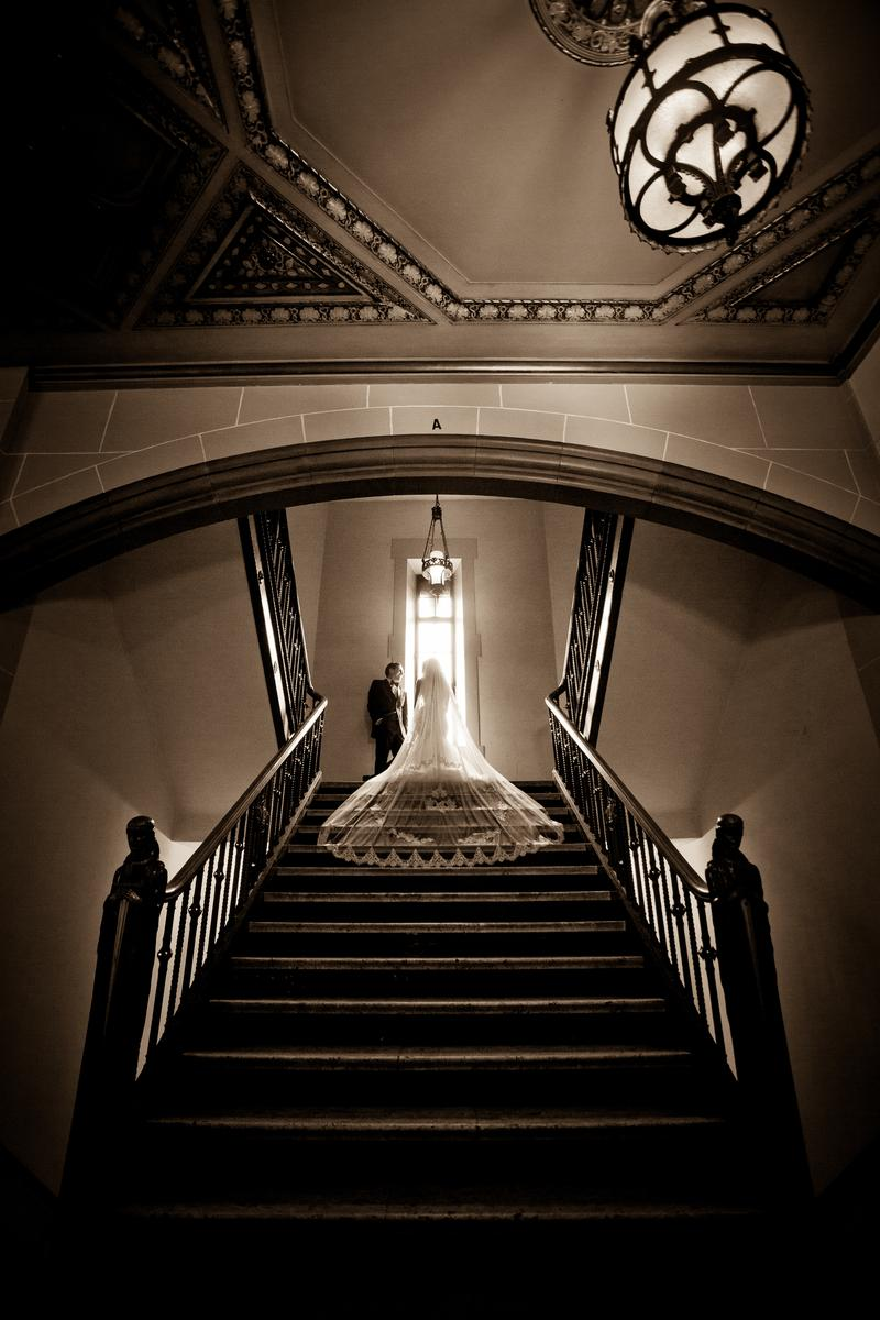 The Masonic Temple wedding venue picture 5 of 7 - Photo by: Wilson Sarkis Photography