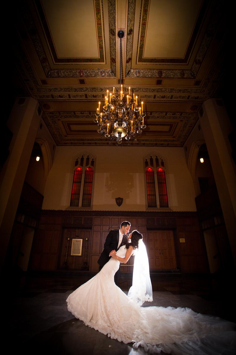 The Masonic Temple wedding venue picture 7 of 7 - Photo by: Wilson Sarkis Photography