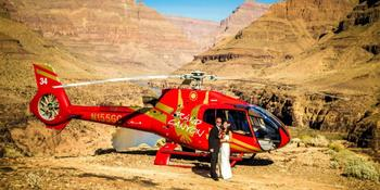 Grand Canyon Helicopters weddings in Las Vegas NV