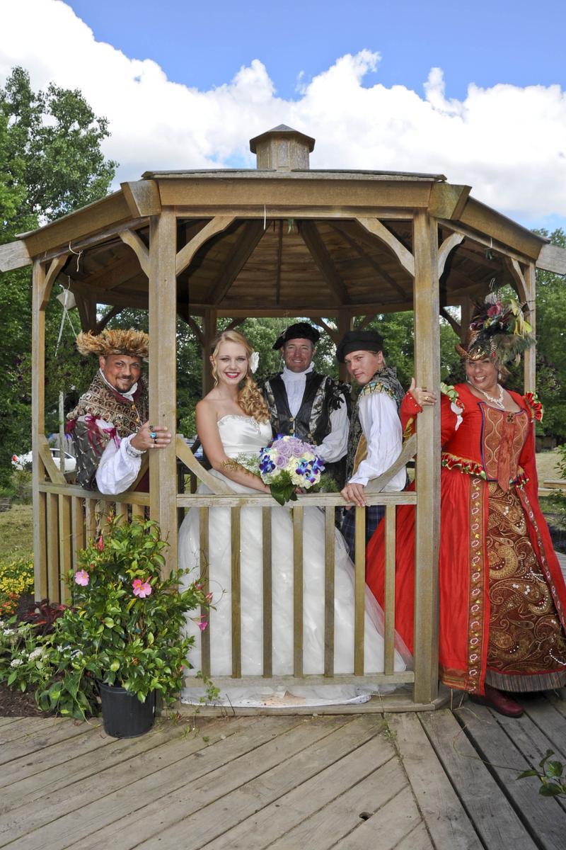 Michigan Renaissance Festival Weddings