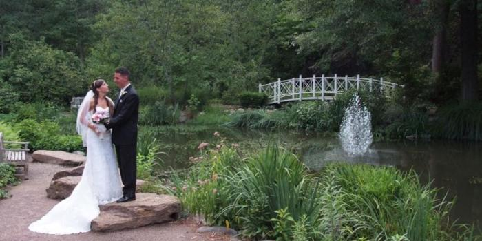 Sayen House and Gardens wedding Central Jersey