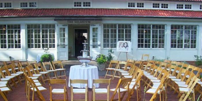 The Solarium At Historic Scottish Rite Weddings Get