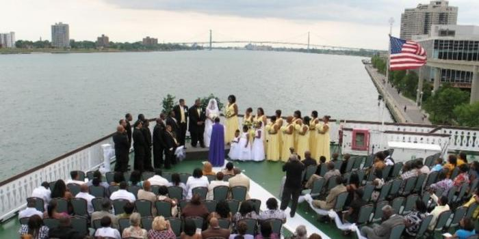 Detroit Princess Riverboat wedding venue picture 6 of 11 - Provided by: Detroit Princess Riverboat