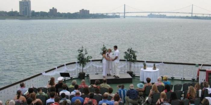 Detroit Princess Riverboat wedding venue picture 7 of 11 - Provided by: Detroit Princess Riverboat