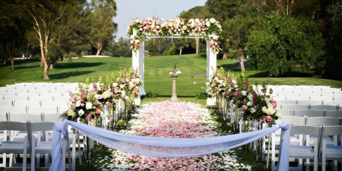 Valencia Country Club wedding Los Angeles