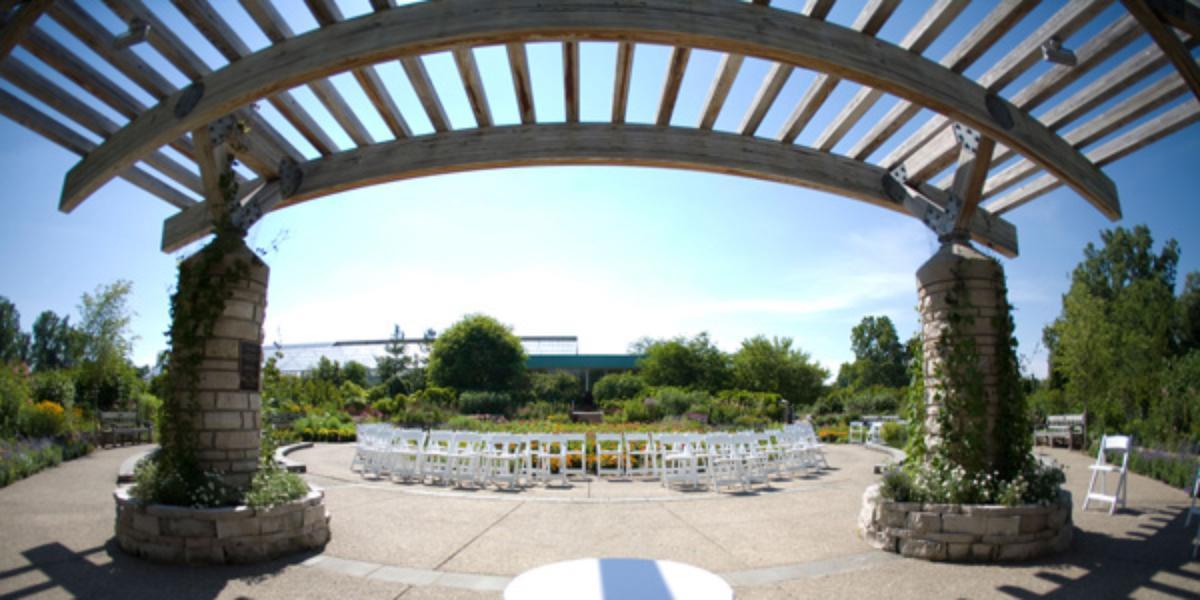U Of M Matthaei Botanical Gardens Weddings