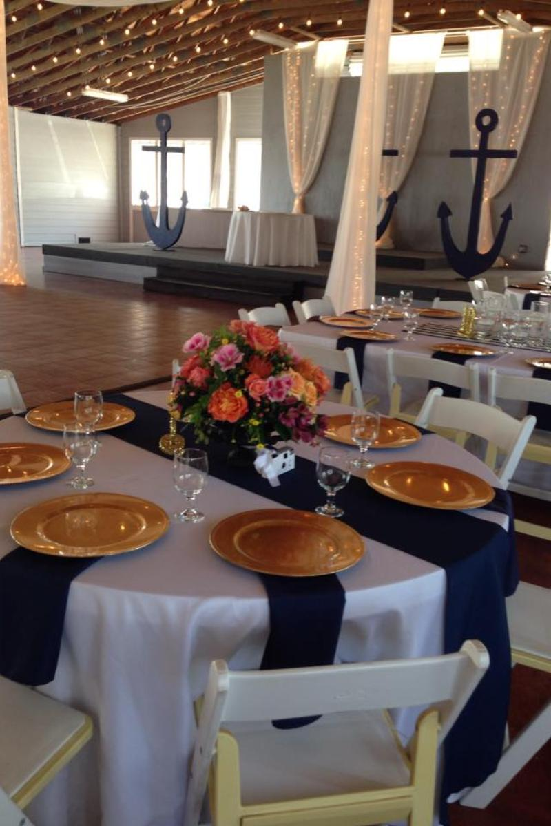 The Pavilion at Pirate39s Cove Marina Weddings