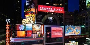 Crowne Plaza Times Square Manhattan weddings in New York NY