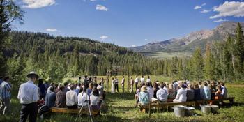 Central Idaho 4-H Camp weddings in Ketchum ID