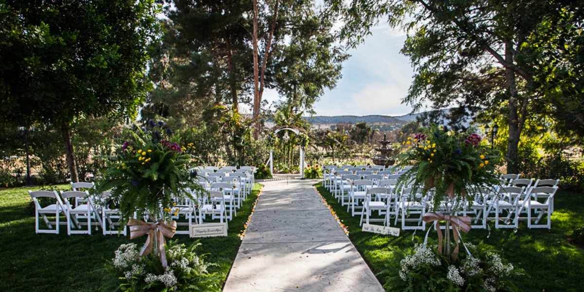 Carlton Oaks Golf Course Weddings