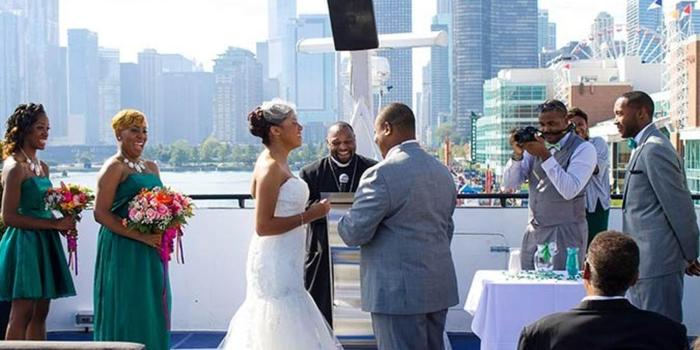 Mystic Blue Cruises wedding venue picture 6 of 16 - Photo by: Queens View Weddings