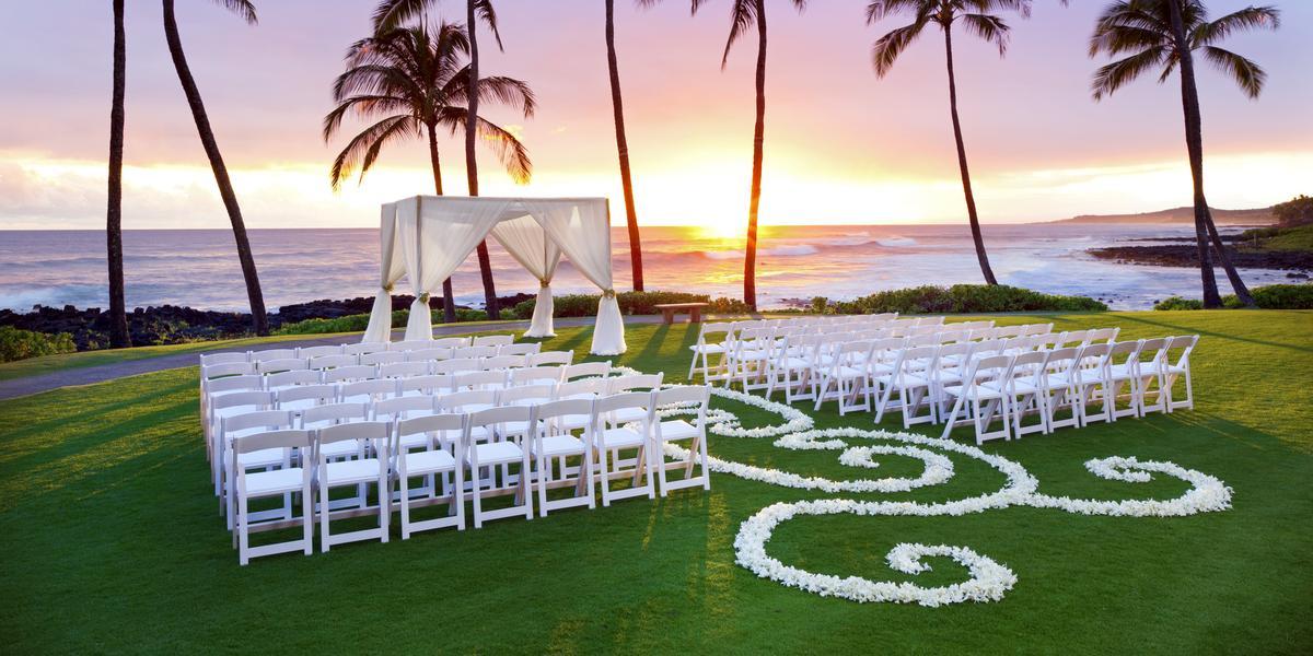 Sheraton Kauai Resort Weddings