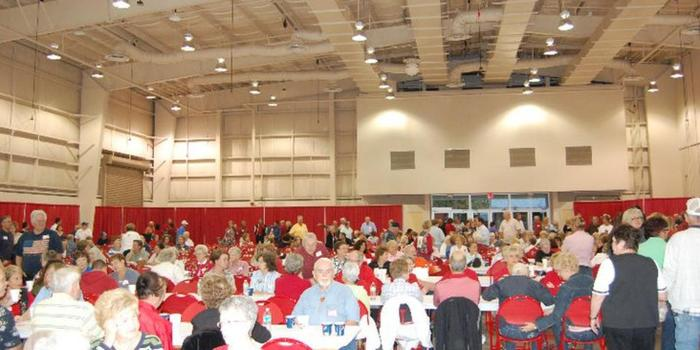 Florida Strawberry Festival- Expo Hall wedding venue picture 1 of 3 - Provided by: Florida Strawberry Festival - Expo Hall