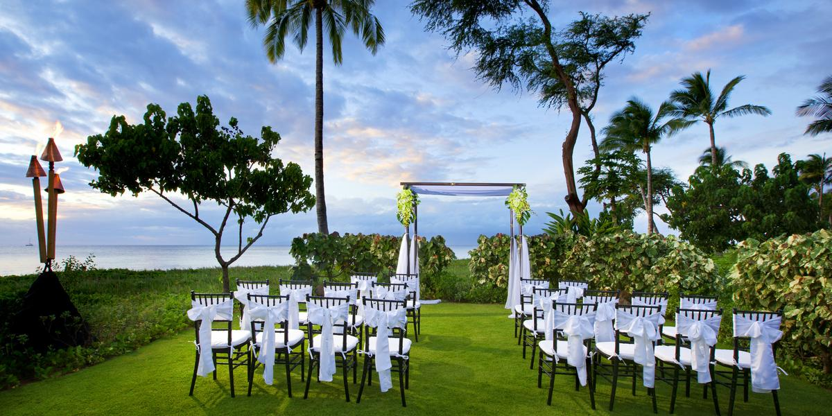 Westin Kaanapali Ocean Resort And Villas Weddings