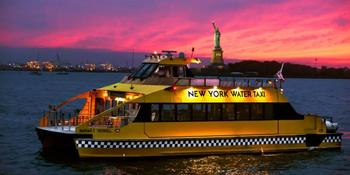 New York Water Taxi weddings in New York NY