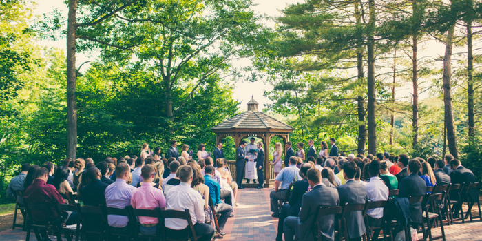 The Pavilion on Crystal Lake wedding venue picture 5 of 16 - Photo by: Erica Camille Productions