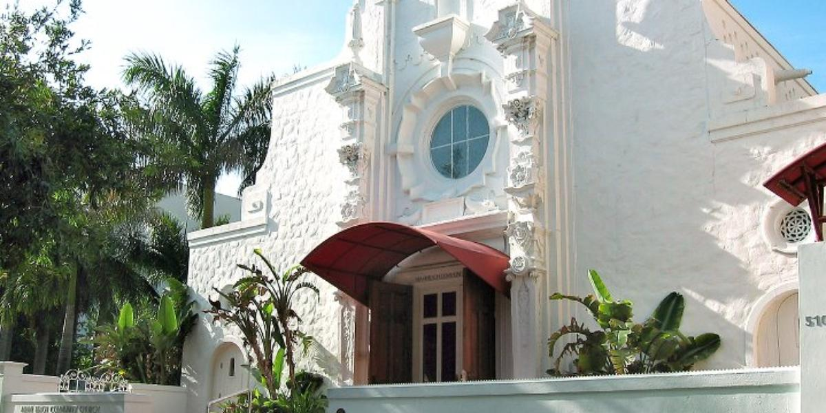 Miami Beach Community Church Weddings | Get Prices for Miami ...