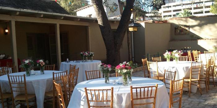 Elegant Outdoor Wedding Ceremony Site Near San Antonio: Cos House At La Villita Weddings