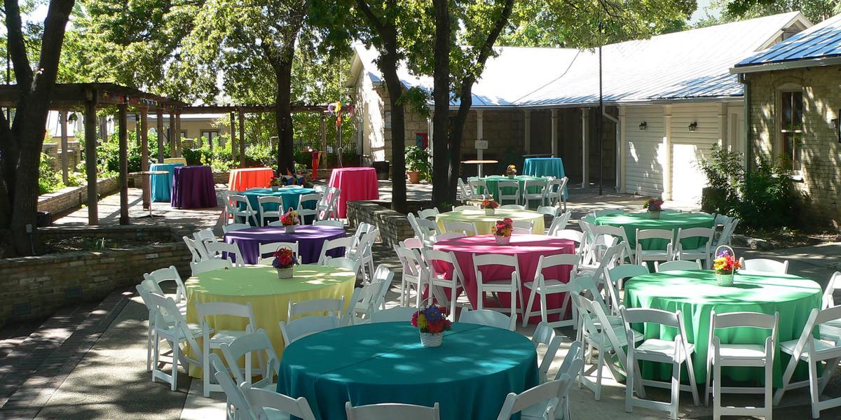 San Antonio Area Venues: Plaza Nacional At La Villita Weddings