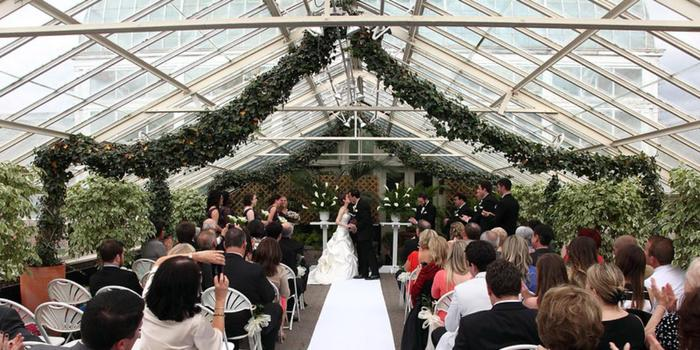 Buffalo and erie county botanical gardens weddings for Outdoor wedding venues in ny