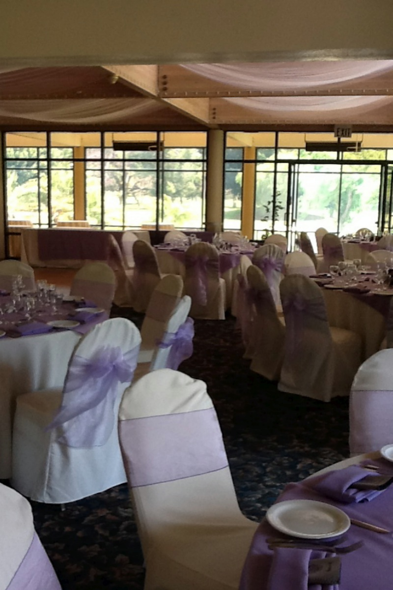 The Clubhouse at Dad Miller Golf Course wedding venue picture 11 of 11 - Provided by: The Clubhouse at Dad Miller Golf Course