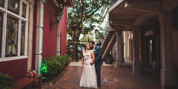 The Courtyard at Gaslight Square weddings in Corpus Christi TX