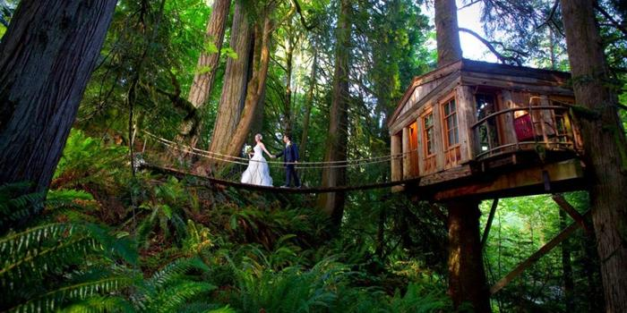Treehouse point weddings get prices for seattle wedding venues in