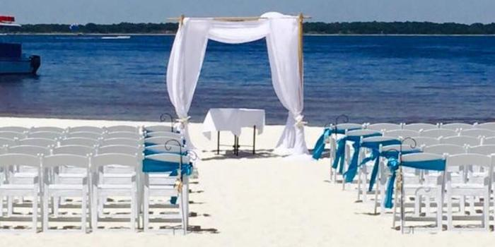 Hemingway's Island Grill wedding Northwest Florida