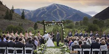 Trail Creek Pavillion at Sun Valley Resort weddings in Sun Valley ID