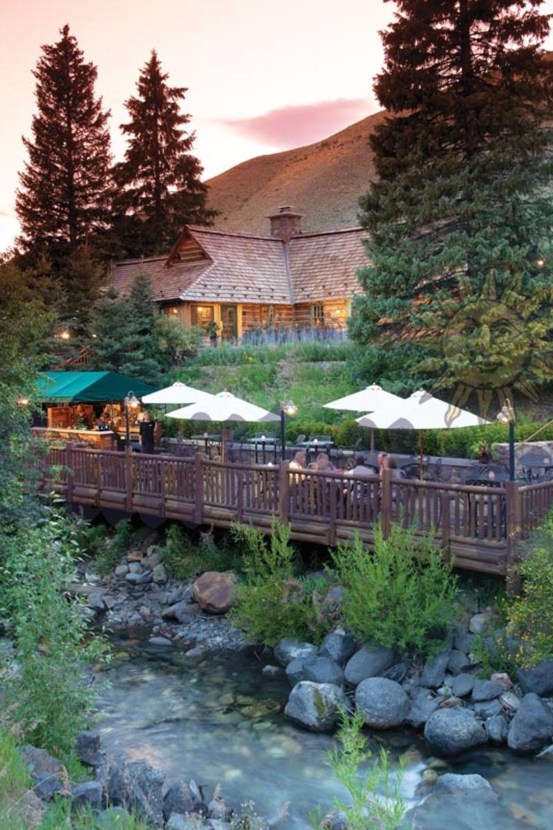 Trail Creek Cabin at Sun Valley Resort. Idaho